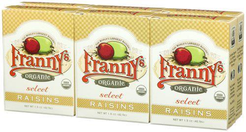 FrannysOrganicRaisins