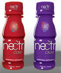 Wonderful, healthy alternatives to energy drinks and sleeping pills. Nectr core is shock full of superfoods and herbs that naturally give you an energy boost and nutrition. Nectr Calm has natural sleep inducing or calming herbs such as chamomile. These drinks will help my body to repair and recover. I used to have cramps in my legs and feet all the time from cycling, but not since I started drinking these.